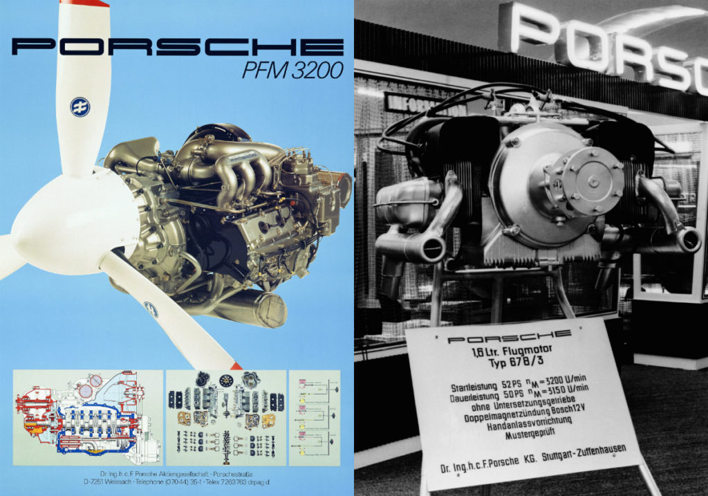 Porsche once produced aircraft engines.
