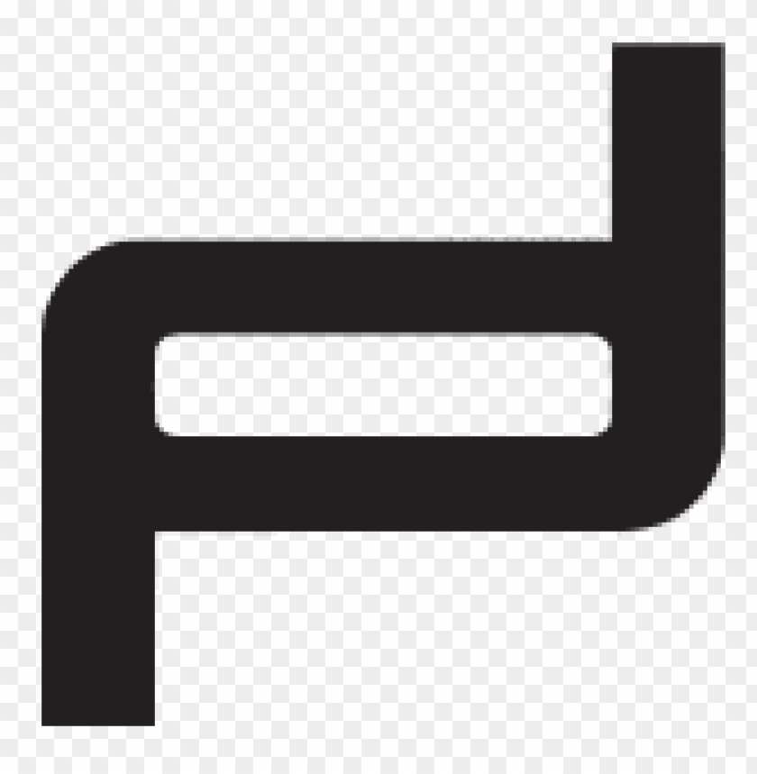 porsche design logo PNG image with transparent background.