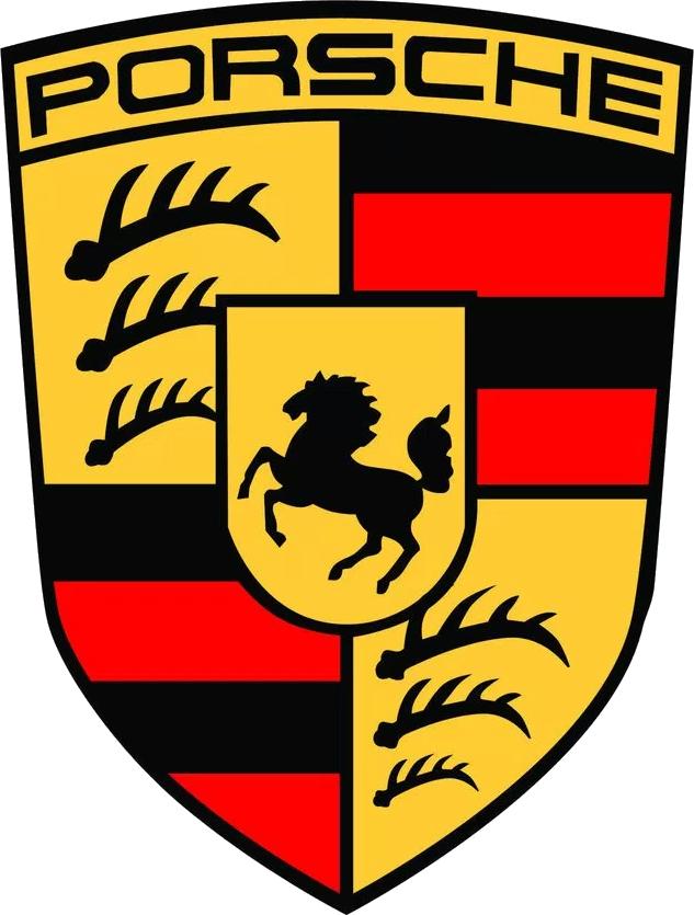 Porsche Cayman Logo Car.