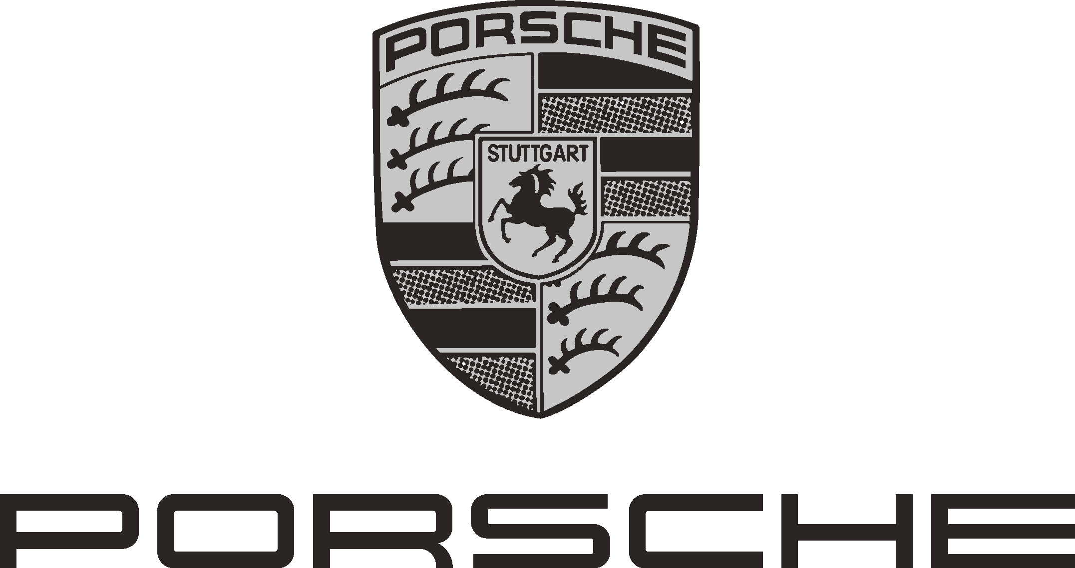Porsche Car BMW Logo.