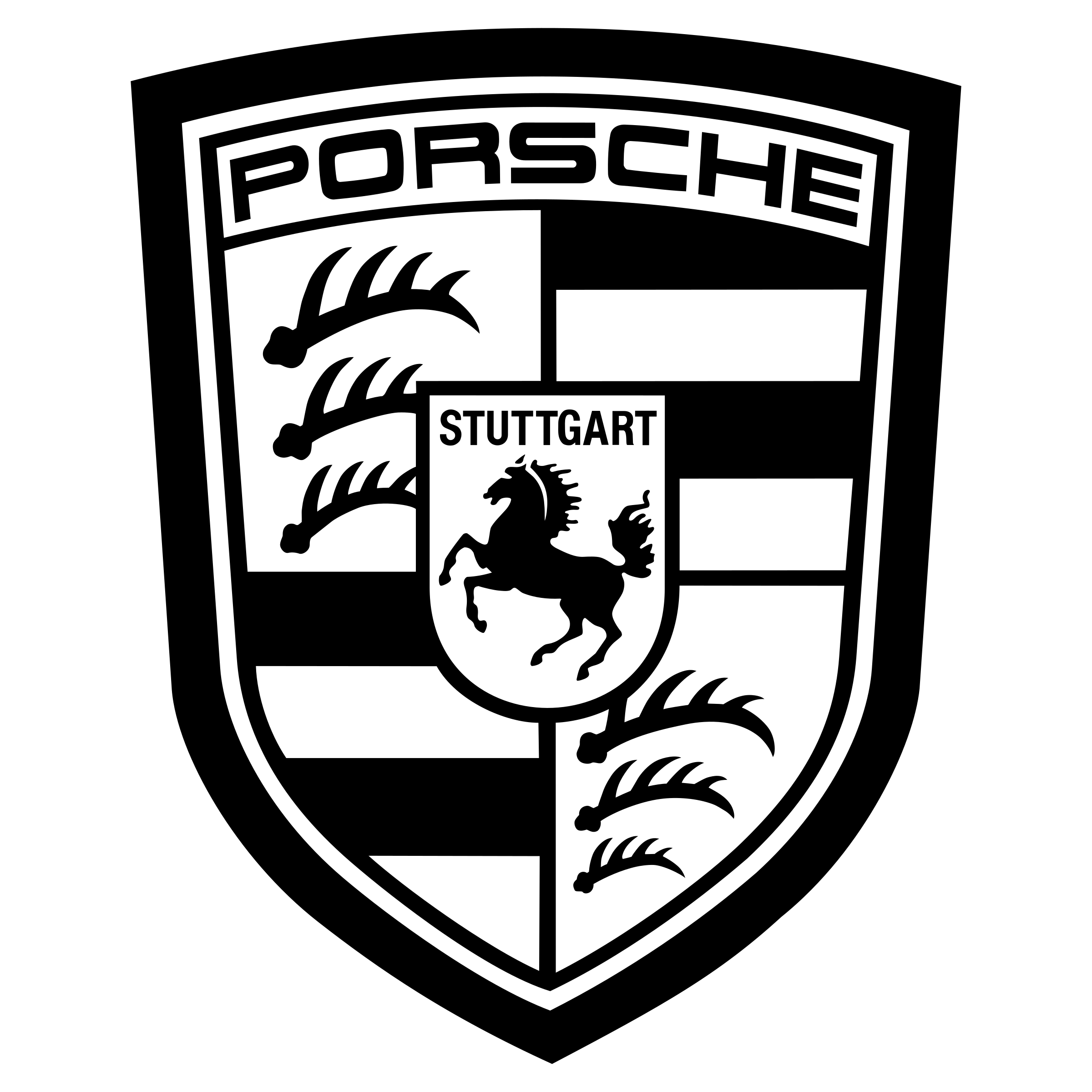 Porsche Logo PNG Transparent & SVG Vector.