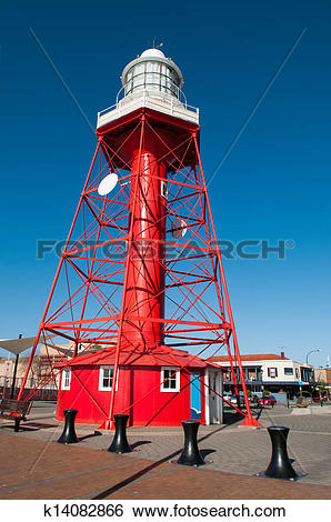 Stock Images of Port adelaide lighthouse k14082866.