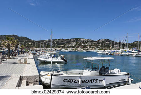 "Stock Photo of ""Harbour or marina of Puerto Andratx, Port d."