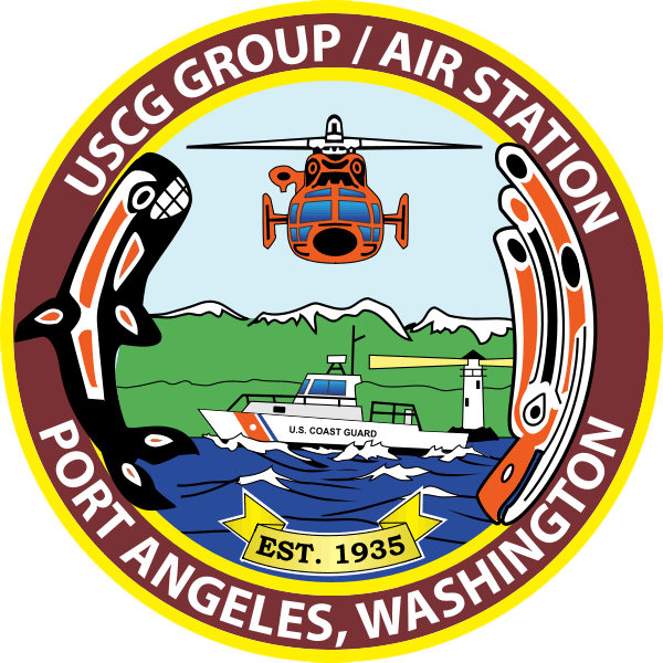 Coast Guard Air Station Port Angeles.