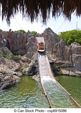 Stock Image of Park of Entertainment Port.