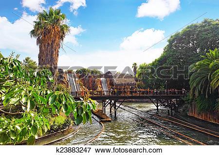 Picture of Amusement park in Spain near Salou.