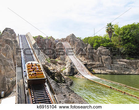 Stock Photo of Park of Entertainment Port.