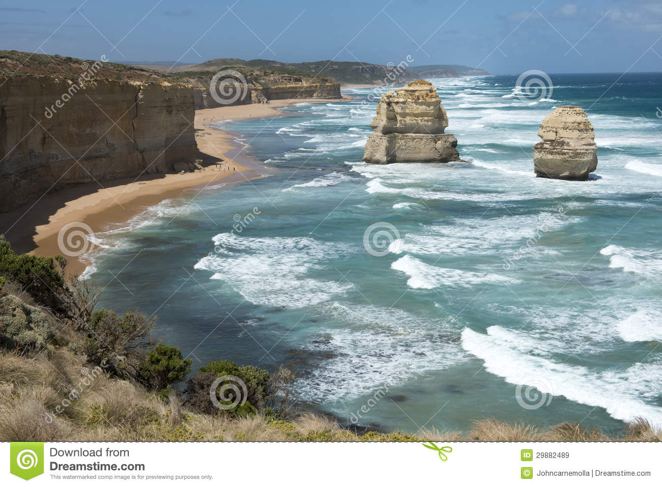 Port Campbell National Park Royalty Free Stock Images.