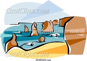 Australia Port Campbell Vector Clip art.