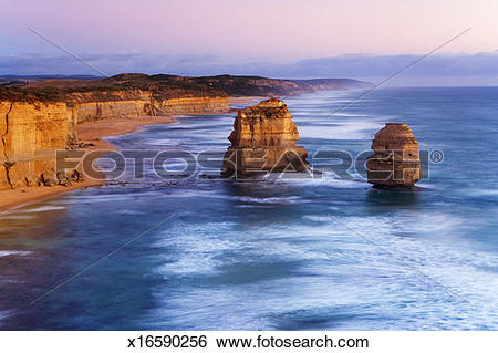 Stock Images of Australia, Victoria, Great Ocean Road, Port.