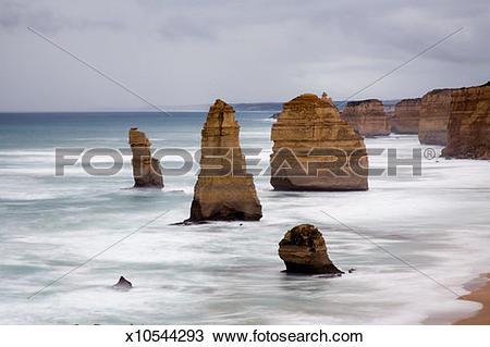 Stock Photo of Australia, Victoria, Port Campbell National Park.