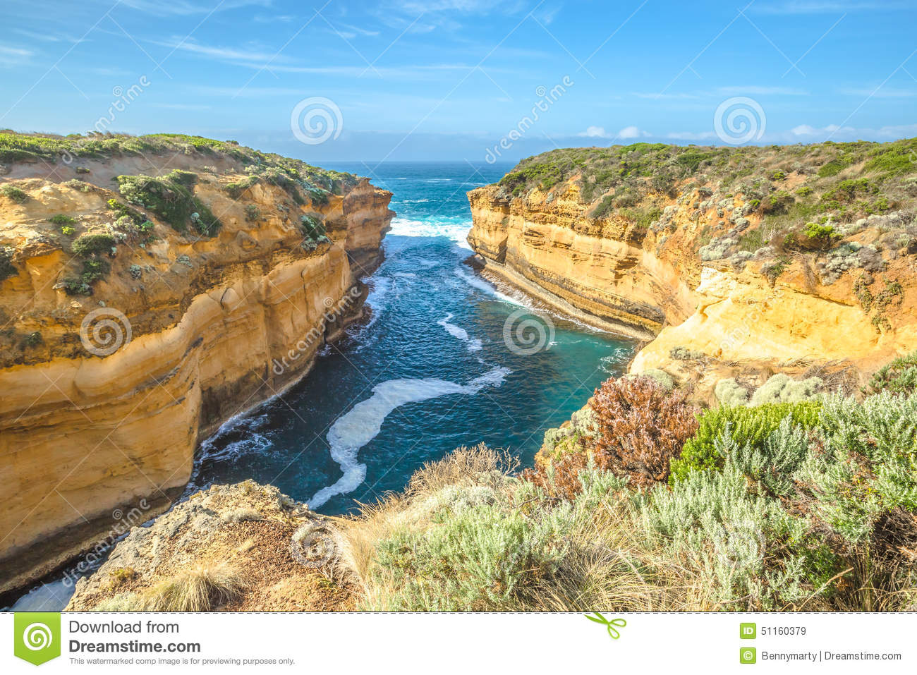 Port Campbell National Park Stock Photo.