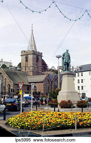 Stock Image of PRINCE ALBERT MEMORIAL AND PARISH CHURCH ST.