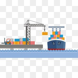Shipping port clipart 7 » Clipart Portal.