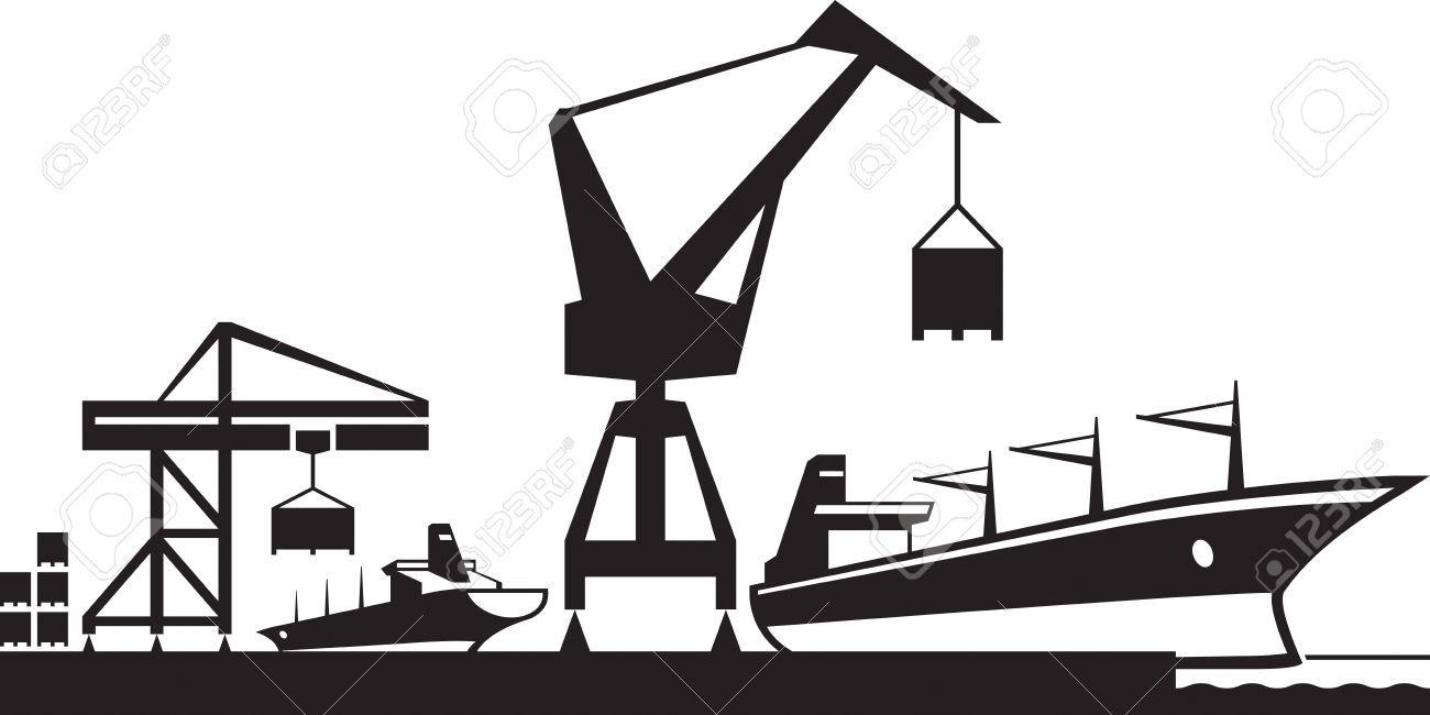port terminal icons.
