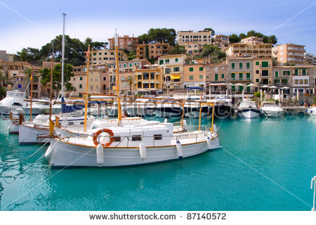 Puerto De Soller Stock Photos, Royalty.