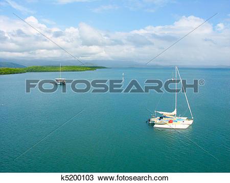 Stock Photo of Coast at Port Douglas, Queensland k5200103.