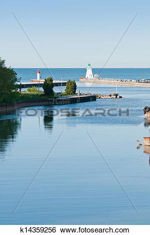 Stock Images of Port Dover Lighthouse k14359256.