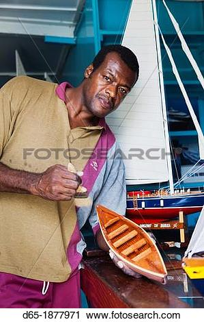 Stock Photography of St Vincent and the Grenadines, Bequia, Port.