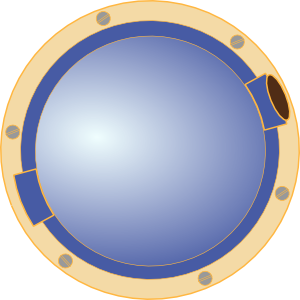Porthole Window Ship Clip Art at Clker.com.
