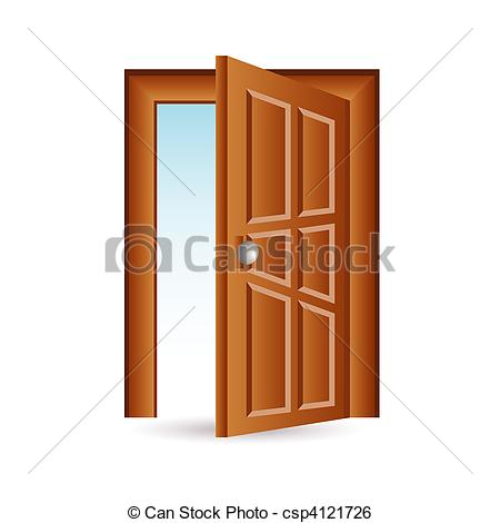 Stock Illustration of door icon csp4121726.