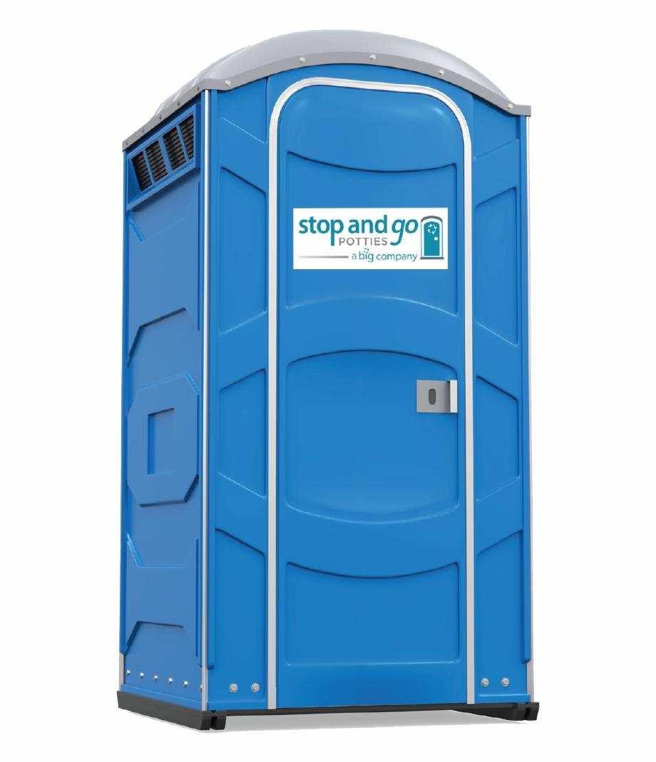 Big Standard Porta Potty.