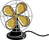 Stock Illustration of A portable fan kch0207.