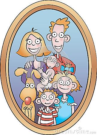 Family Portrait Clipart.