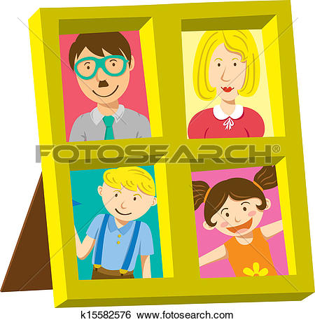 Family portrait Clipart Vector Graphics. 5,915 family portrait EPS.