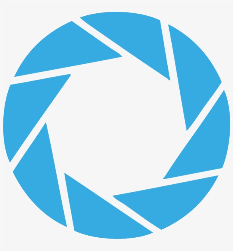 Aperture Science Portal Logo Png Library Stock.