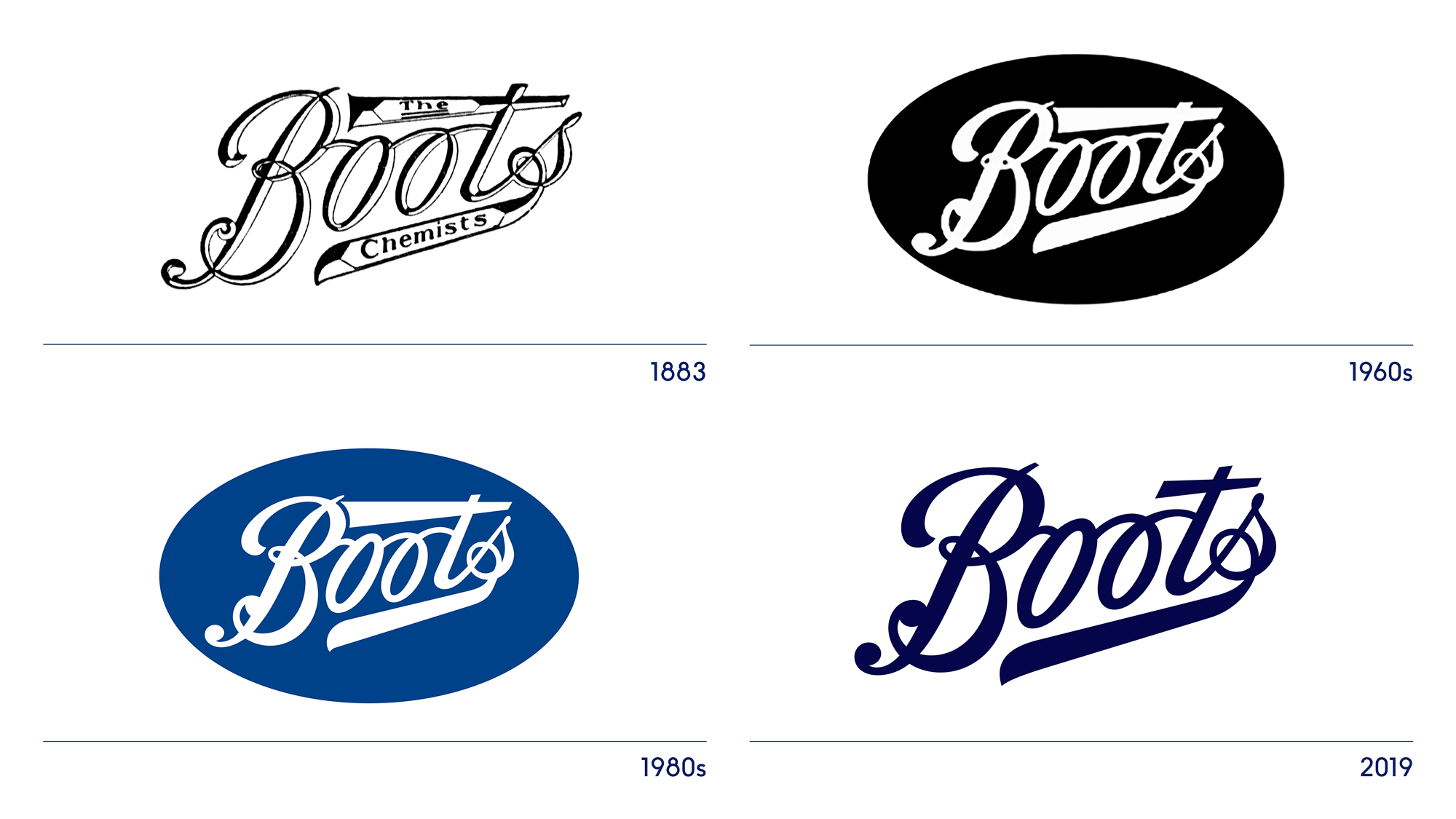 Brand New: New Logo and Identity for Boots UK by Coley.