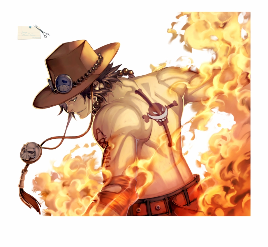 One Piece Ace Png & Free One Piece Ace.png Transparent.