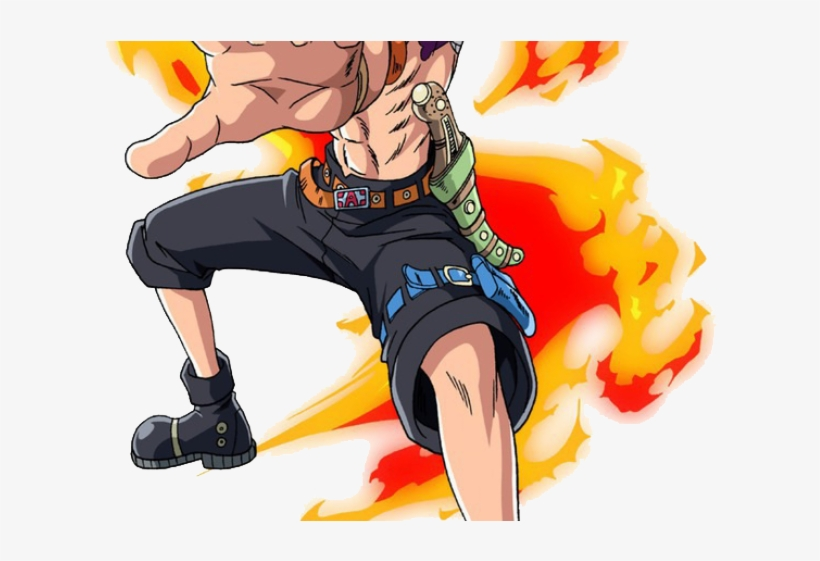 One Piece Clipart Ace.