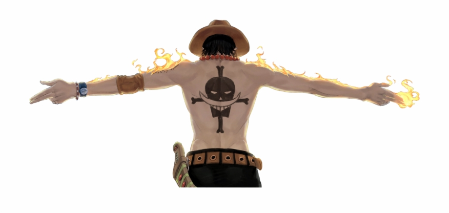 Ace One Piece Png.