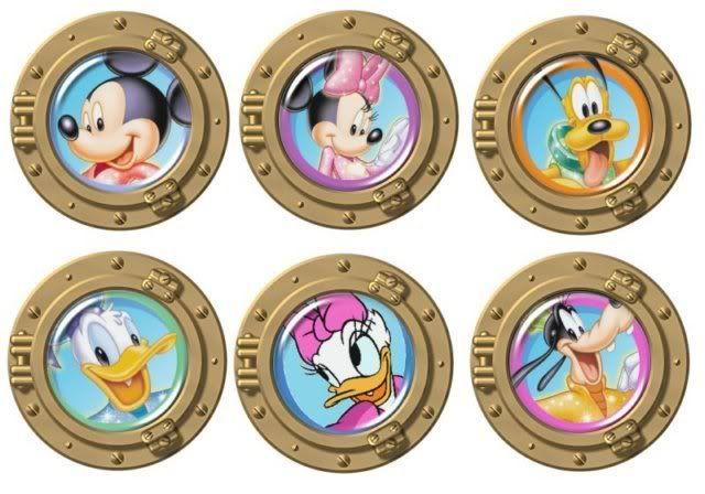 Portholes with Disney.