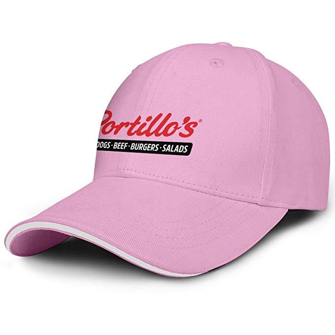 Amazon.com: Portillo\'s Logo Men Women Snapback Ball Cap.