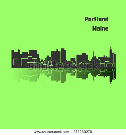 Portland maine clipart.