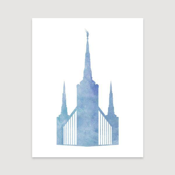 Portland Temple.
