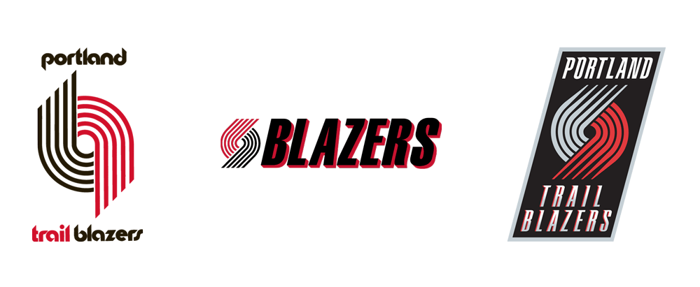 Brand New: New Logo for Portland Trail Blazers.