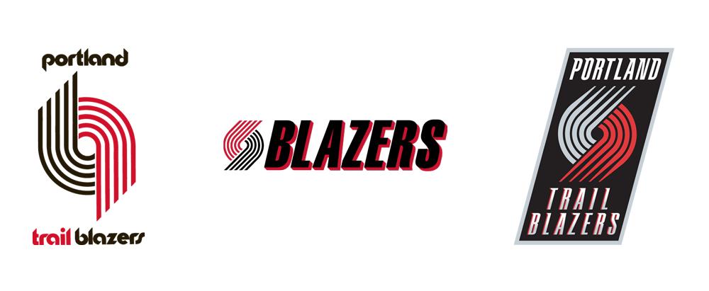 Brand New: New Logo for Portland Trail Blazers.