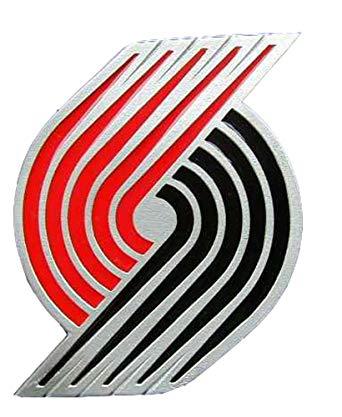 Portland Trailblazers Logo Novelty Belt Buckle.