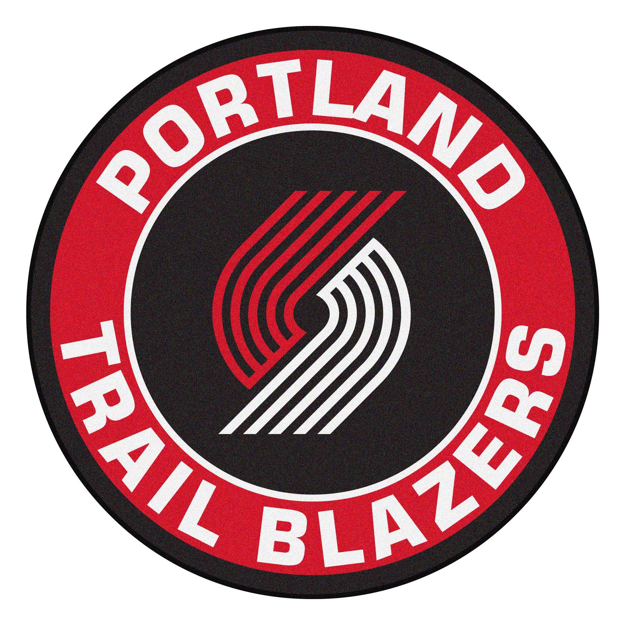 Portland Trail Blazers Logo Roundel Mat.