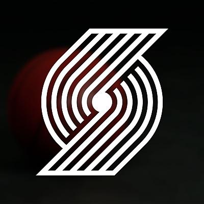Portland Trailblazers NBA Logo / Vinyl Decal Sticker.