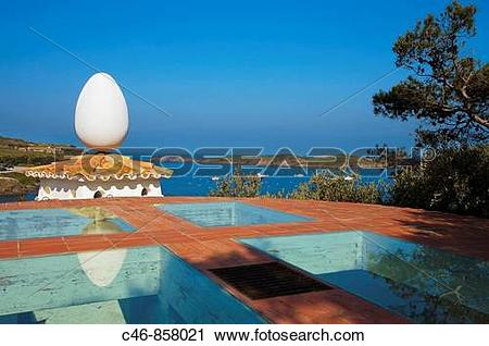 Stock Photography of Salvador Dali House and Museum. Portlligat.