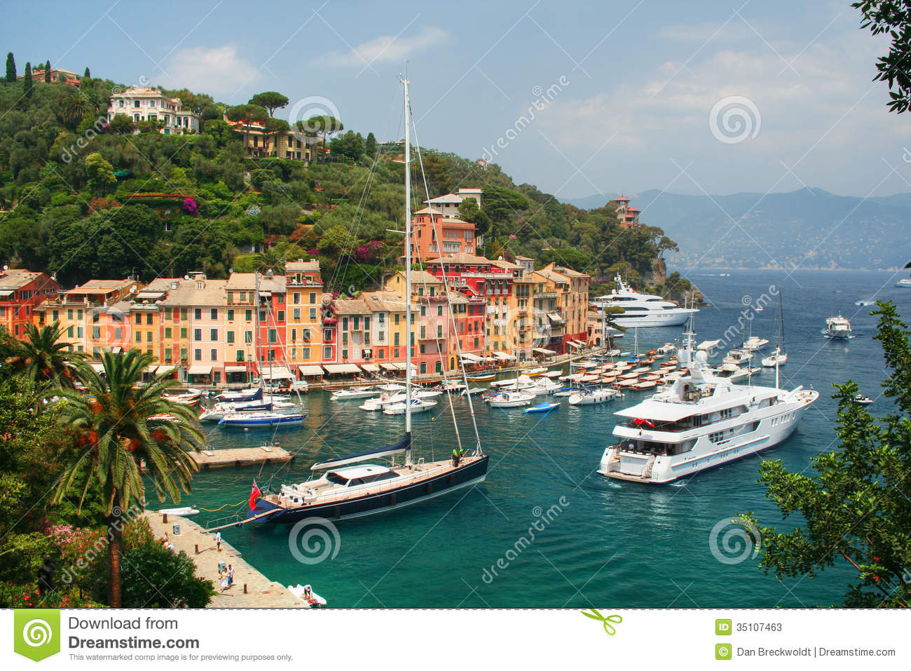 Portofino, Italy Stock Photos.