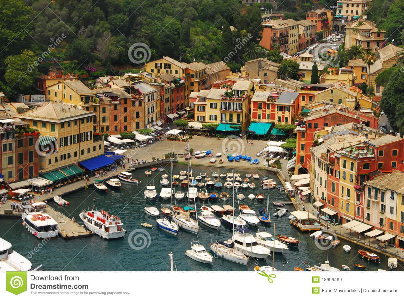 Portofino, Italy Royalty Free Stock Images.