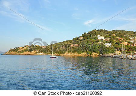 Stock Photographs of View of Porto Santo Stefano.