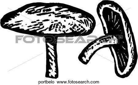 Clipart of Portobello portbelo.