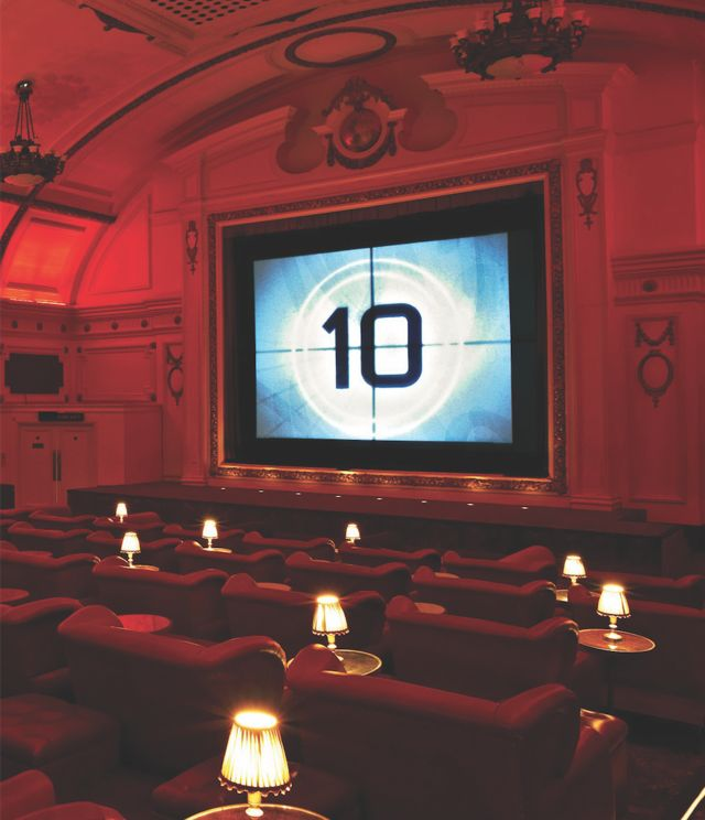 Clipart cinema four hills.