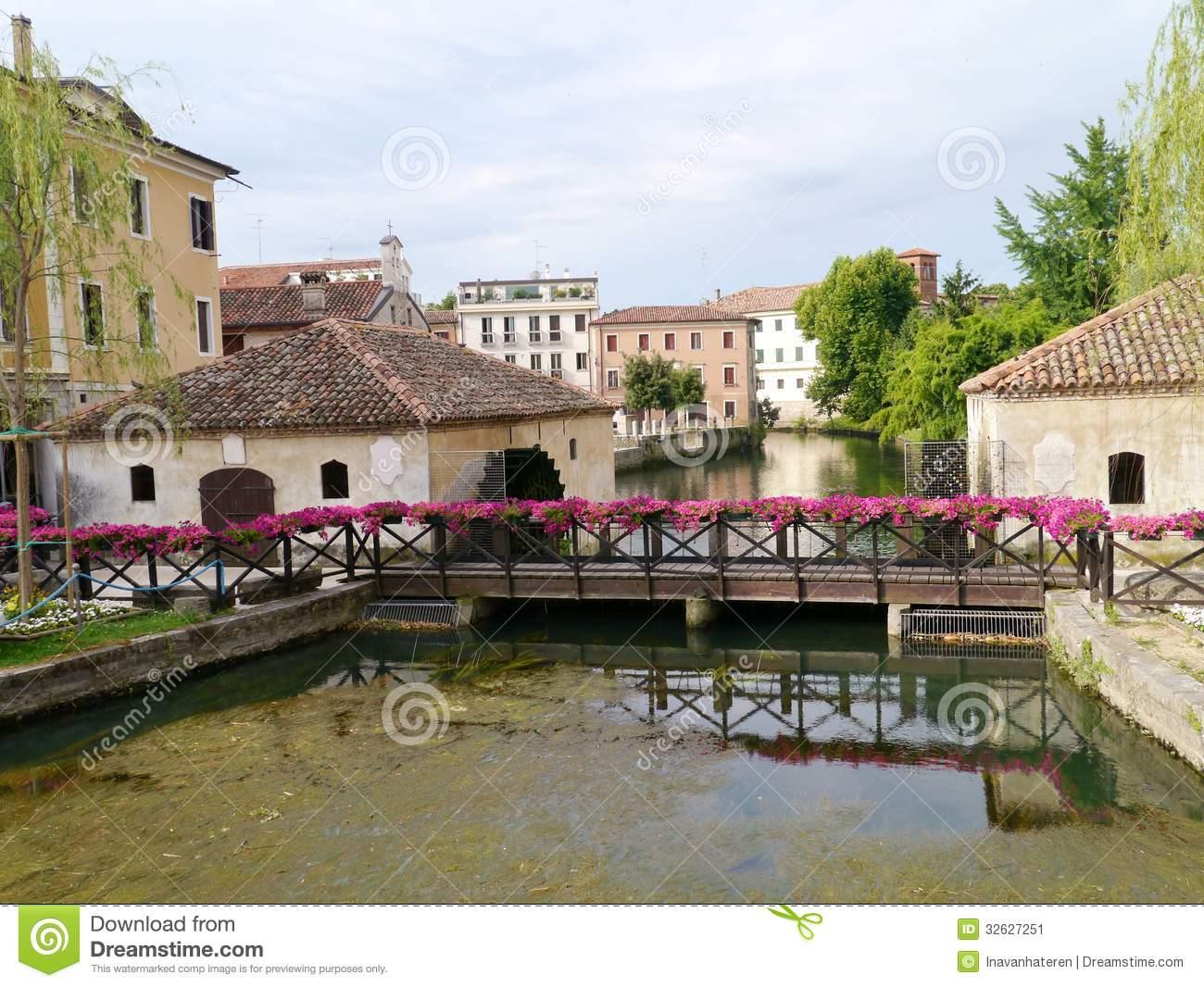 Portogruaro In Italy Stock Image.